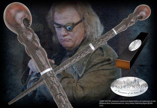 Harry Potter Wand Alastor Mad-Eye Moody (Character-Edition) - Noble Collection