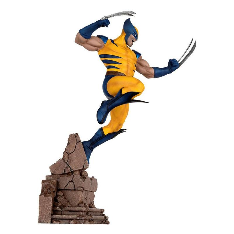 Marvel: Wolverine 1/10 Future Fight Video Game PVC Statue - Pop Cultrue Shock