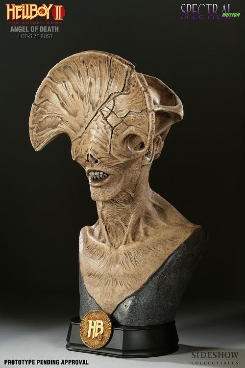 HELLBOY 2 ANGEL OF DEATH LIFE-SIZE BUST - SIDESHOW