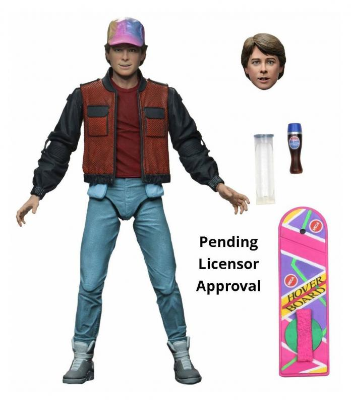 Back to the Future Part II Action Figure Ultimate Marty McFly 18 cm