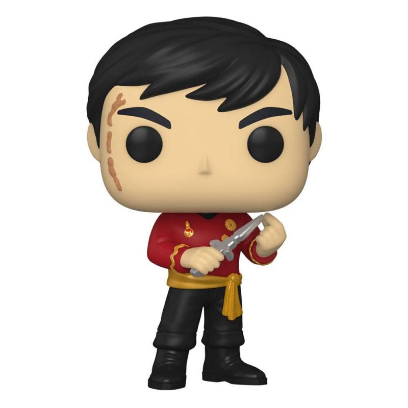 Star Trek POP! TV: Sulu (Mirror Mirror Outfit) 9 cm Vinyl Figure - Funko