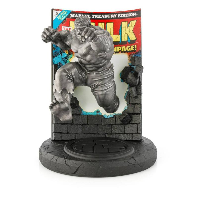Marvel: Hulk Satin Finish - Pewter Collectible Limited Edition - Statue 22 cm - Royal