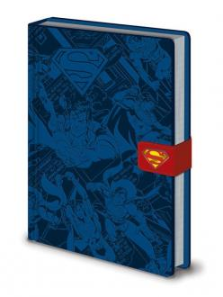 DC Comics Premium Notebook A5 Superman Montage