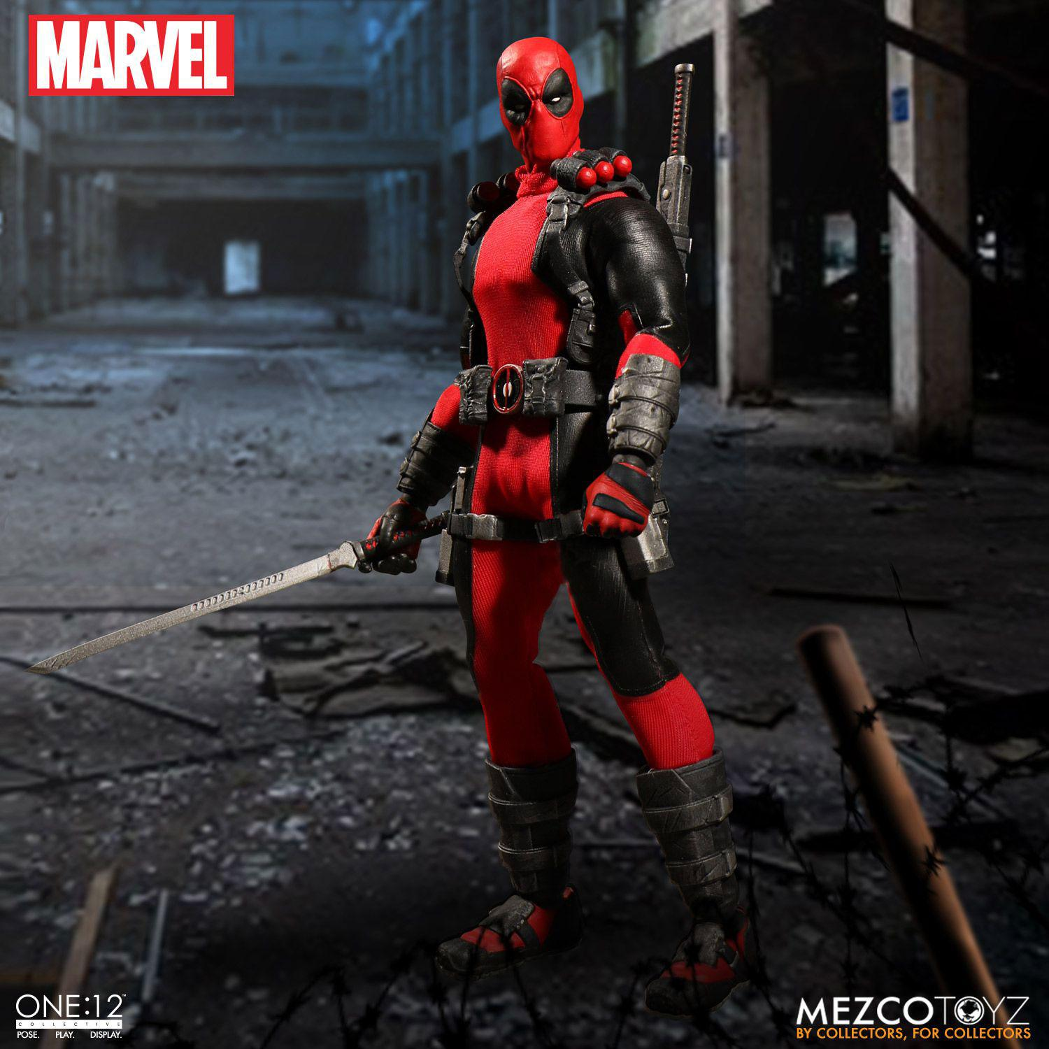 Marvel Universe Action Figure 1/12 Deadpool 17 cm