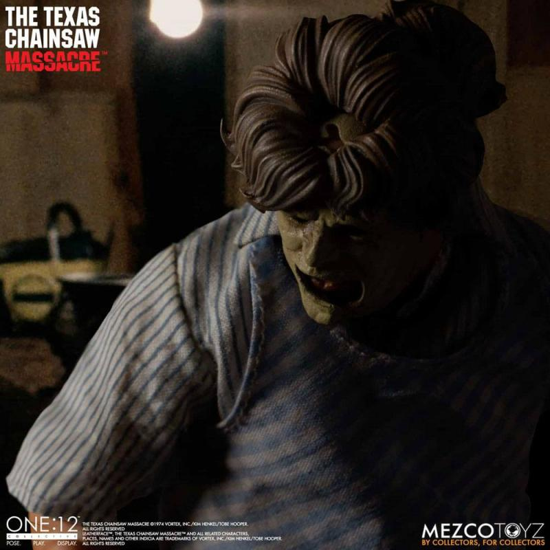 Texas Chainsaw Massacre: Leatherface Deluxe Edition - Figure 1/12 - Mezco