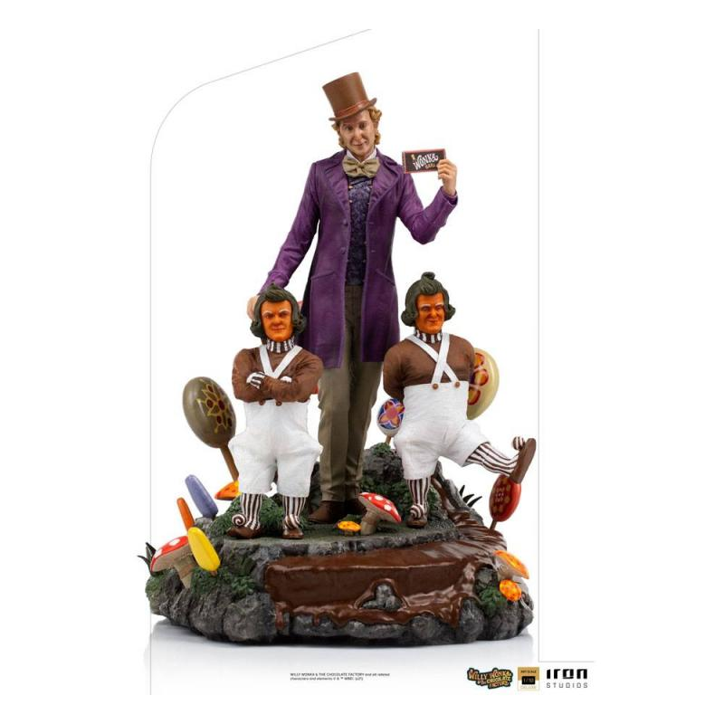 Willy Wonka & the Chocolate Factory (1971): Willy Wonka - Deluxe Art Statue 1/10 - Iron