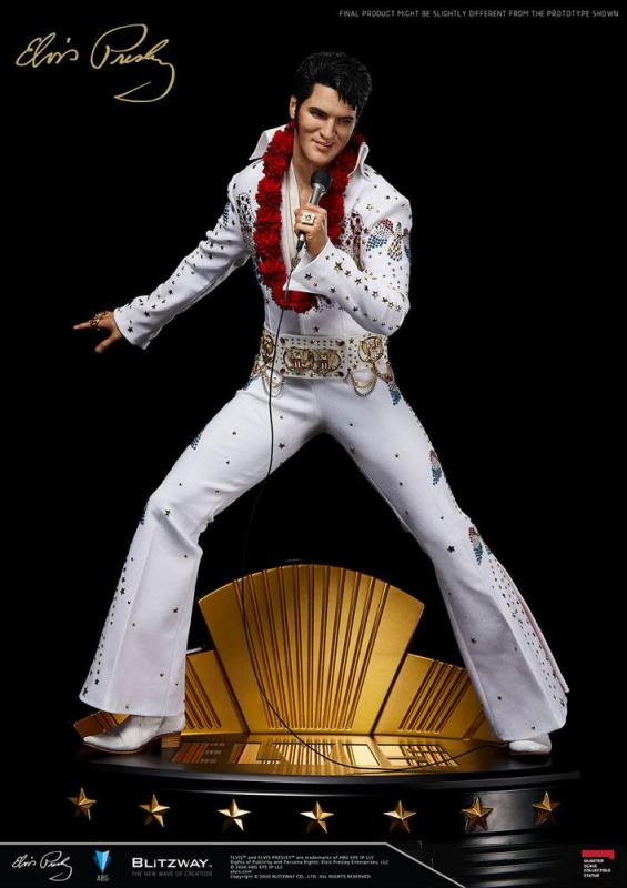 Elvis Presley - Superb Scale Hybrid Statue 1/4 - Blitzway