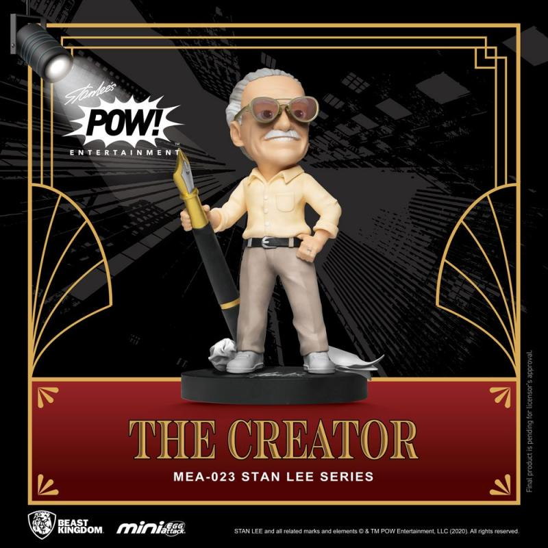 Stan Lee: Stan Lee The Creator - Mini Egg Figure 8 cm - Beast Kingdom
