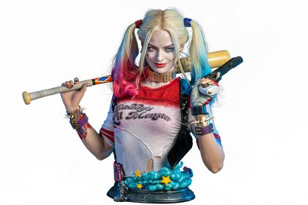Suicide Squad: Harley Quinn 1/1 Bust - Infinity Studio