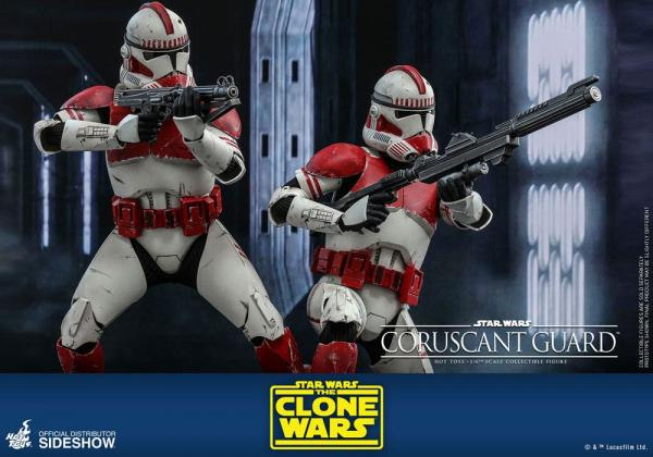 Star Wars The Clone Wars: Coruscant Guard - Figure 1/6 - Hot Toys