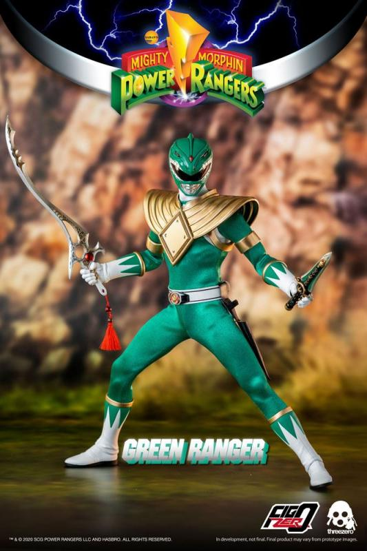 Mighty Morphin Power Rangers: Green Ranger - FigZero Figure 1/6 - ThreeZero