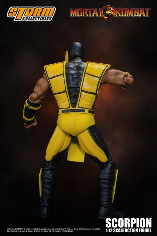 Mortal Kombat:  Scorpion - Action Figure 1/12 - Storm Collectibles