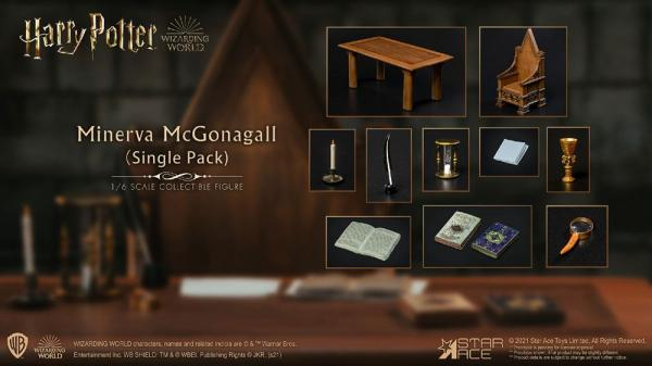 Harry Potter: Minerva McGonagall Desk 1/6 - Star Ace Toys