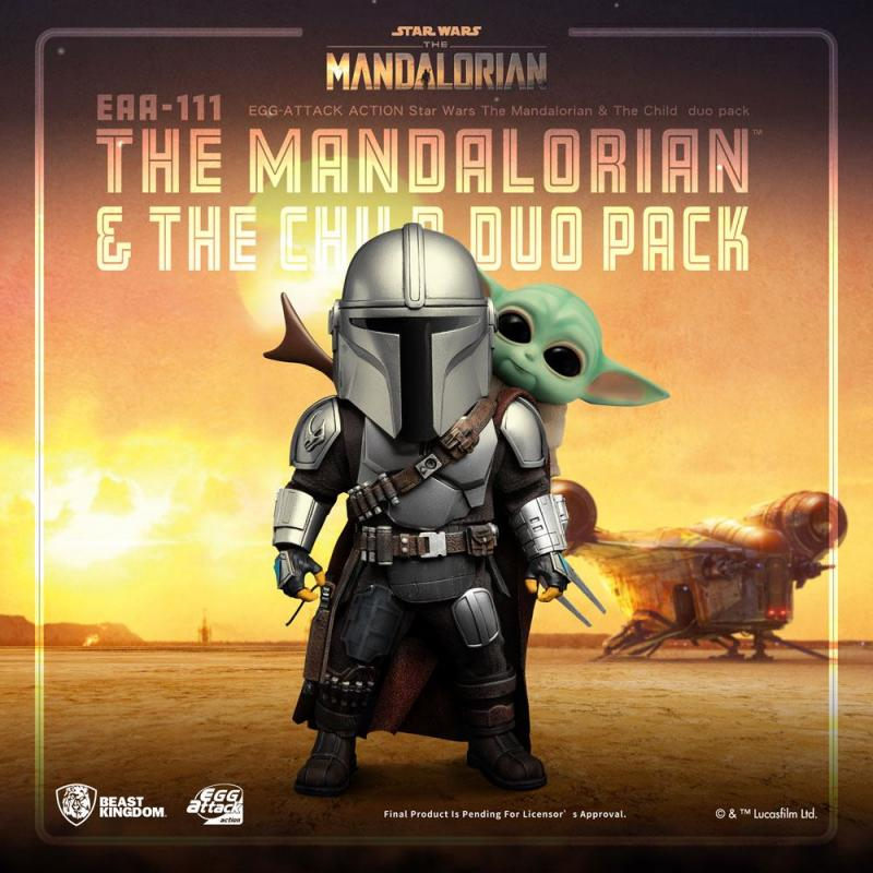 Star Wars: The Mandalorian & The Child 17 cm Egg Attack Action Figure - Beast Kingdom Toys