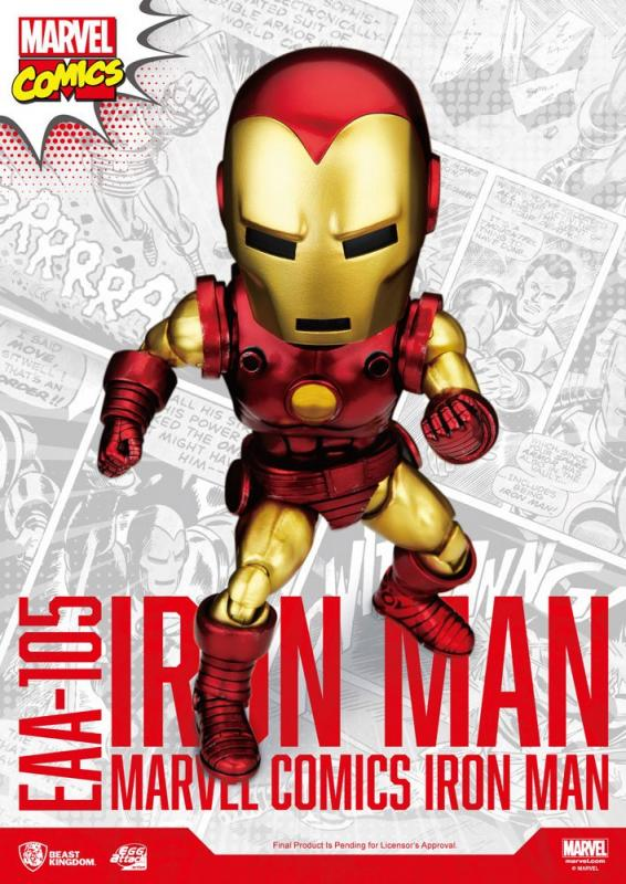 Marvel: Iron Man Classic Version 16 cm Egg Attack Action Figure - Beast Kingdom Toys