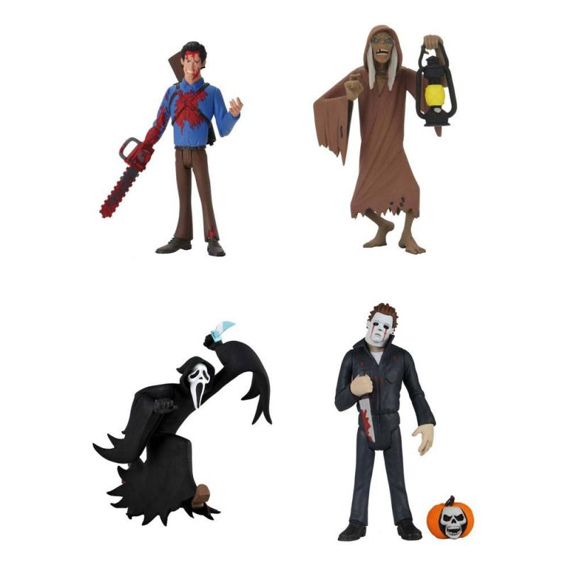 Toony Terrors Action Figures 15 cm Serie 4 Assortment (12) - Neca