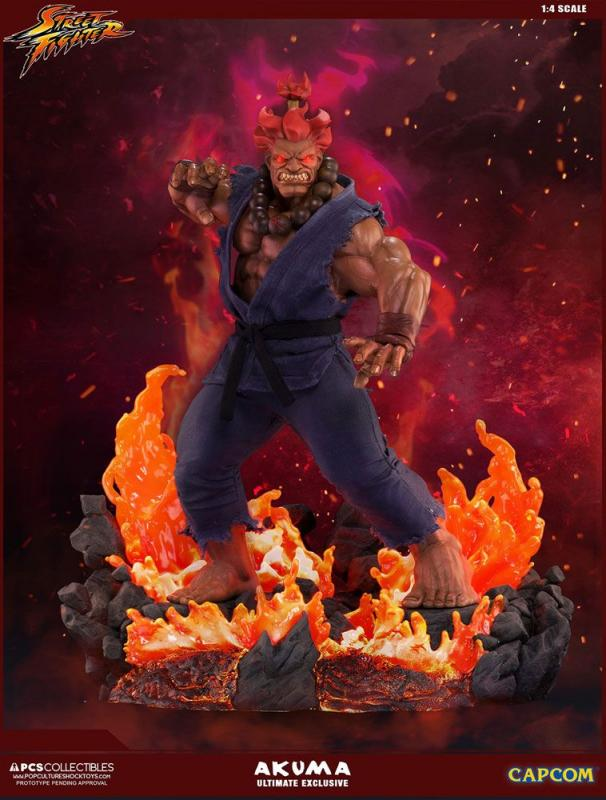 Street Fighter: Akuma - Mixed Media Statue 1/4 Ultimate Exclusive - Pop Culture Shock