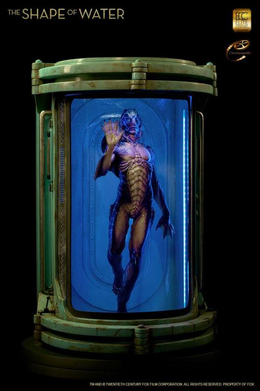 The Shape of Water Maquette 1/3 Amphibian Man 82 cm
