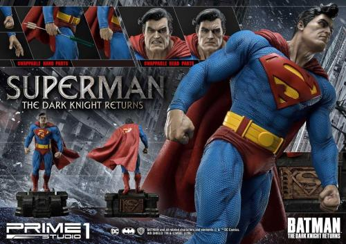 Batman: The Dark Knight Returns Statue 1/3 Superman 88 cm