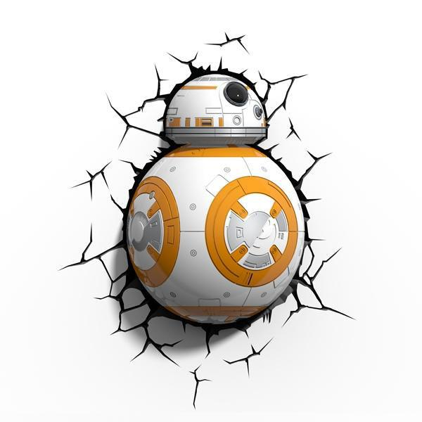 Star Wars Episode VII 3D LED Lampička BB-8