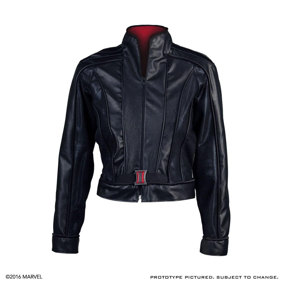 Captain America Civil War Replica Black Widow Jacket