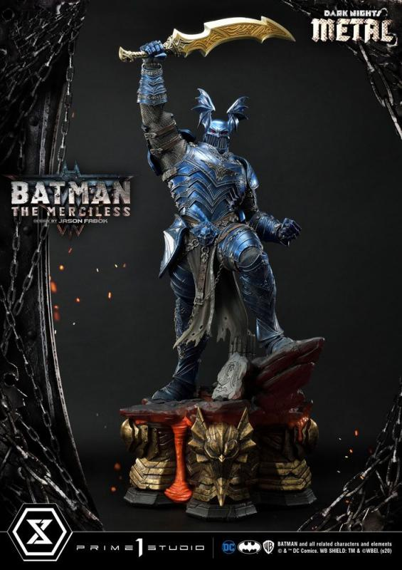 Dark Nights: Metal The Merciless - Statue 112 cm - Prime 1 Studio