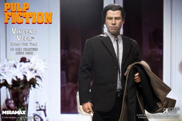 Pulp Fiction My Favourite Movie Action Figure 1/6 Vincent Vega 2.0 (Pony Tail) Deluxe Vers