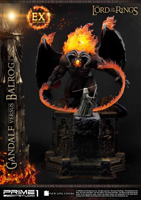 Lord of the Rings Statues Gandalf Vs. Balrog & Gandalf Vs. Balrog Exclusive 79 cm Assortme