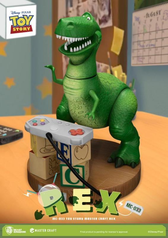 Toy Story Master Craft Statue Rex 33 cm