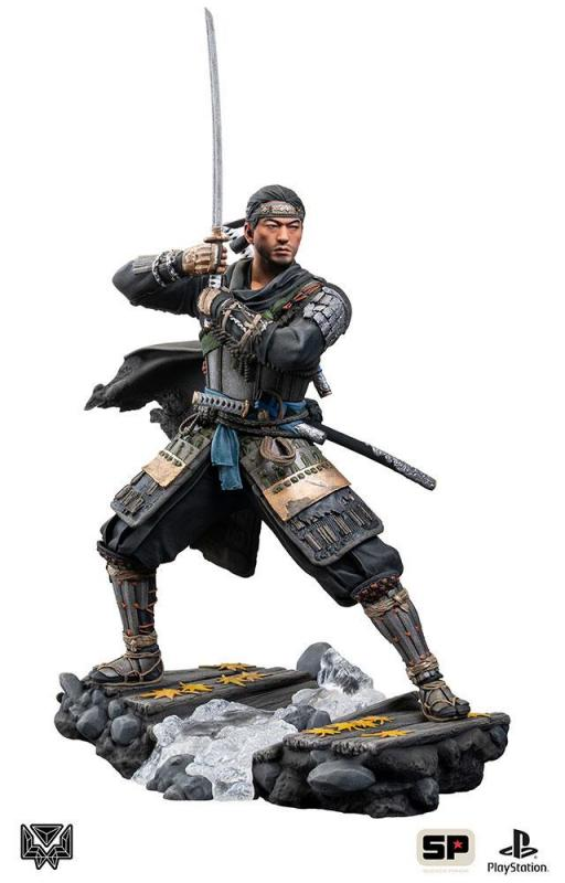 Ghost of Tsushima: Jin Sakai 25 cm Statue - Level 52 Studio