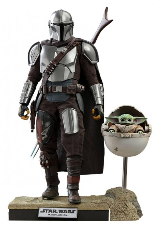 Star Wars The Mandalorian Action Figure 2-Pack 1/6 The Mandalorian & The Child Deluxe 30cm
