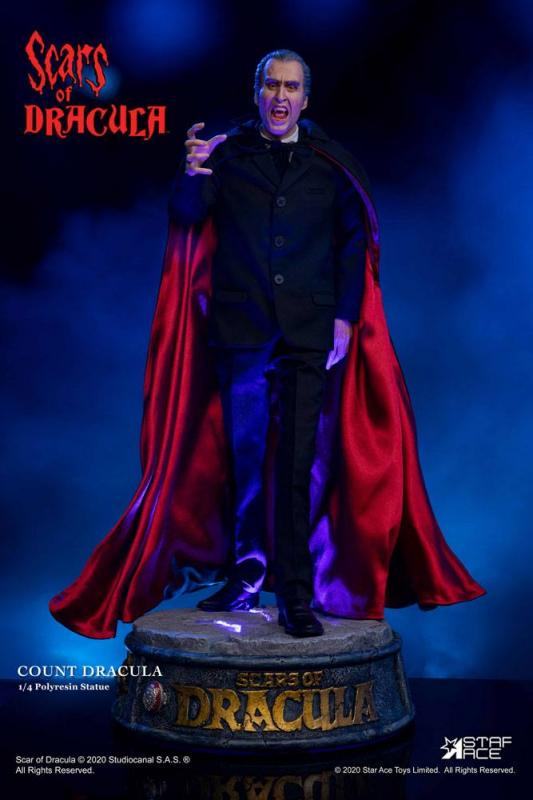 Scars of Dracula: Count Dracula 2.0 1/4 Statue - Star Ace Toys