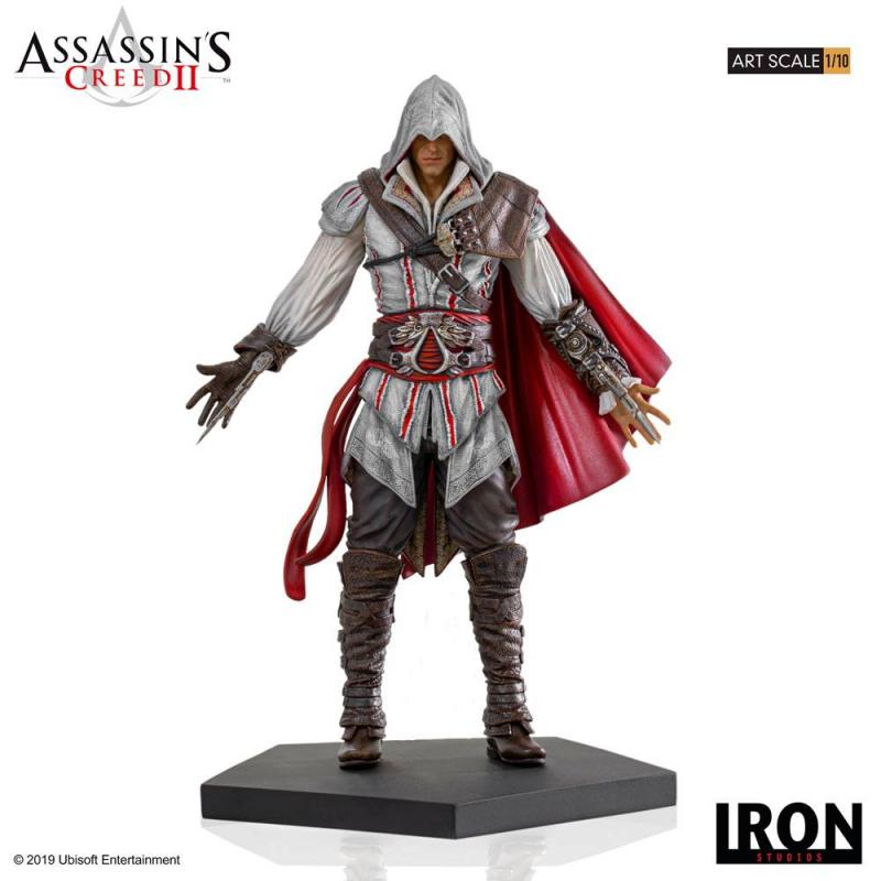 Assassin's Creed II Art Scale Statue 1/10 Ezio Auditore 21 cm