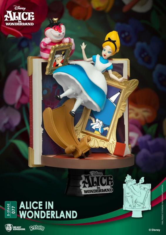Disney Story Book Series: Alice in Wonderla 15 cm D-Stage PVC Diorama - Beast Kingdom Toys