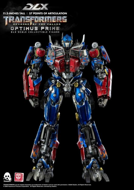 Transformers Revenge of the Fallen: Optimus Prime - DLX Action Figure 1/6  - ThreeZero