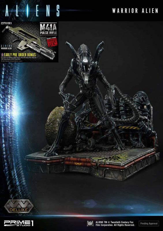 Aliens: Warrior Alien - Premium Masterline Statue Deluxe Bonus Version 67 cm - Prime 1