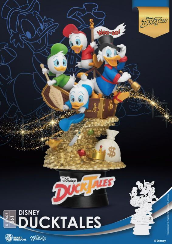 Disney Classic Animation: DuckTales 15 cm - D-Stage PVC Diorama - Beast Kingdom
