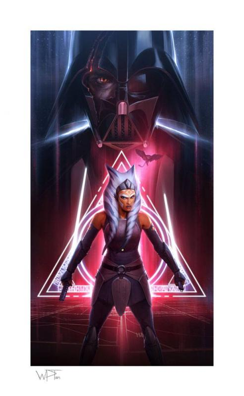 Star Wars: Ahsoka Tano (Between Worlds) 46 x 66 cm Art Print - Sideshow Collectibles
