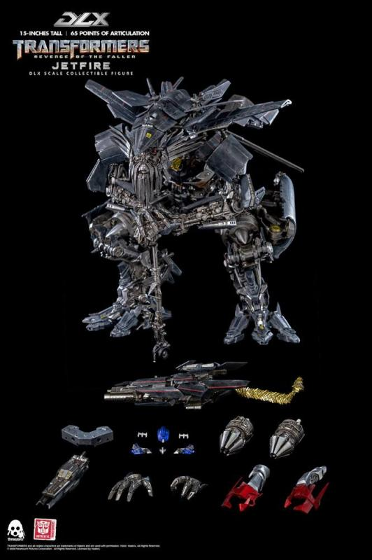 Transformers Revenge of the Fallen: Jetfire 1/6 DLX Action Figure - ThreeZero