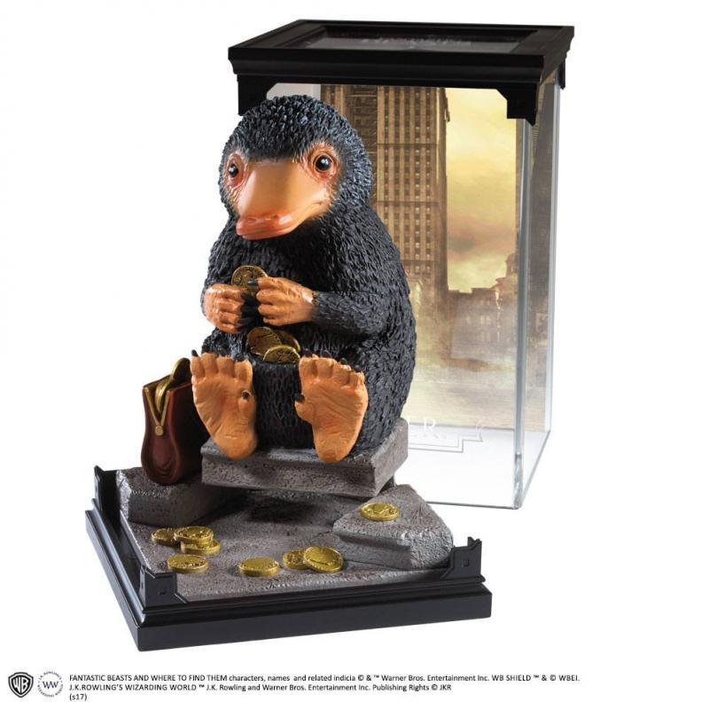 Fantastic Beasts: Niffler - Magical Creatures Statue 18 cm - Noble Collection