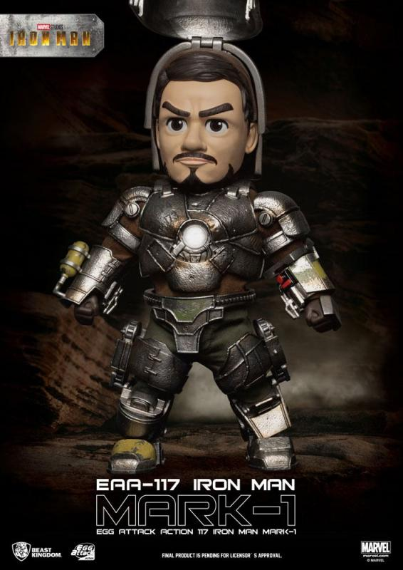Marvel:  Iron Man Mark I - Egg Figure 16 cm - Beast Kingdom
