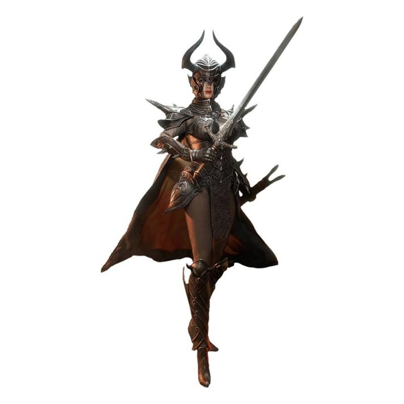 Knight of Fire 1/6 Action Figure Black Edition - TBLeague