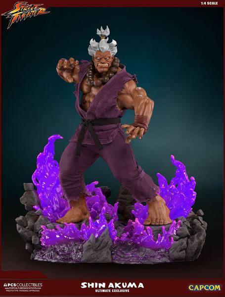 Street Fighter: Shin Akuma - Mixed Media Statue 1/4 Ultimate Exclusive - Pop Culture Shock
