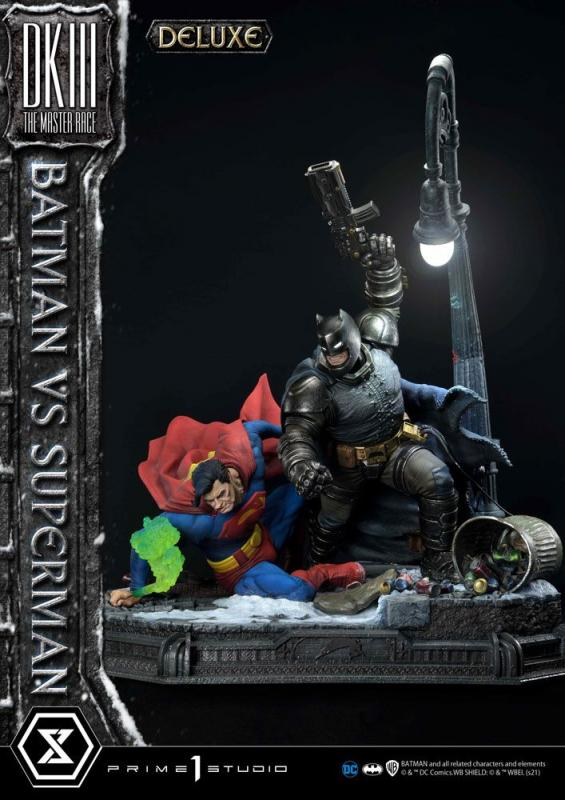DC Comics: Batman Vs. Superman 110 cm Statue Deluxe Bonus Ver. - Prime 1 Studio
