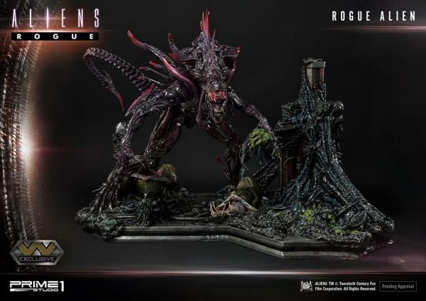 Aliens Premium Masterline Series Statues Rogue Alien & Rogue Alien Exclusive 66 cm