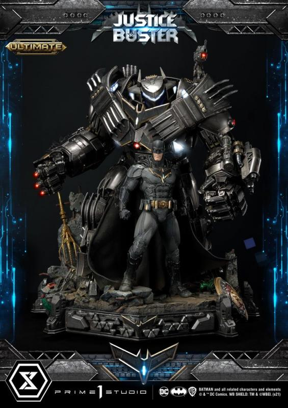DC Comics: Justice Buster by Josh Nizzi Ultimate Version - Statue 88 cm - Prime 1 Studio