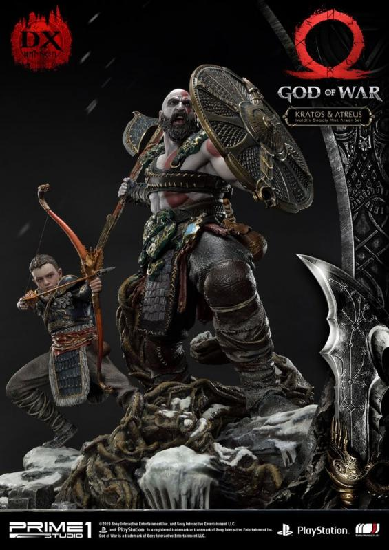 God of War (2018) Statue Kratos & Atreus Deluxe Ver. 72 cm