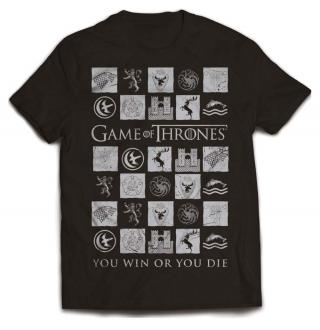 Game of Thrones T-Shirt You Win or Die
