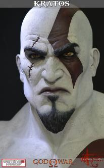 God of War Ascension: Kratos Life Size Bust 71 cm