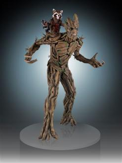 Guardians of the Galaxy Statue 1/4 Rocket & Groot 54 cm